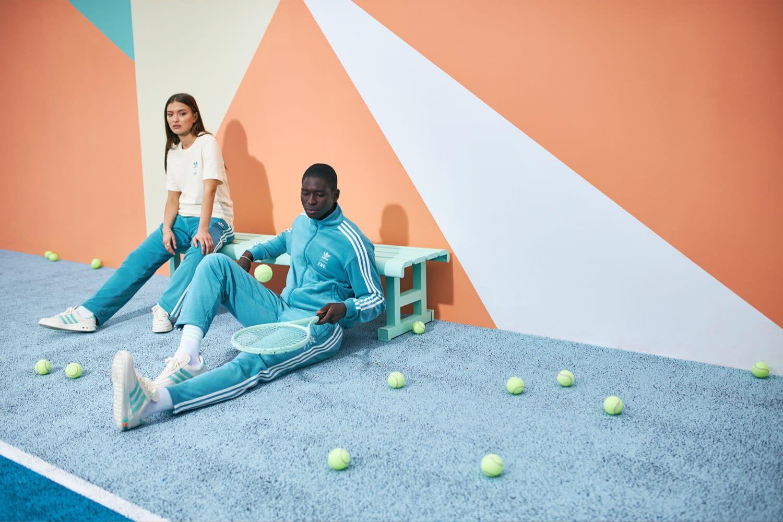 "END. x adidas ""Tennis Club"" Look Book"