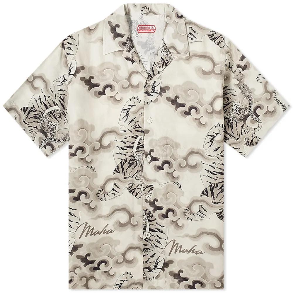 Maharishi Tiger Camp Summer Shirt