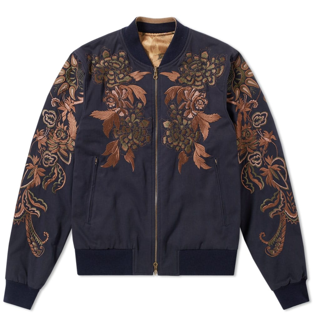 Vinny Embroidered Bomber Jacket