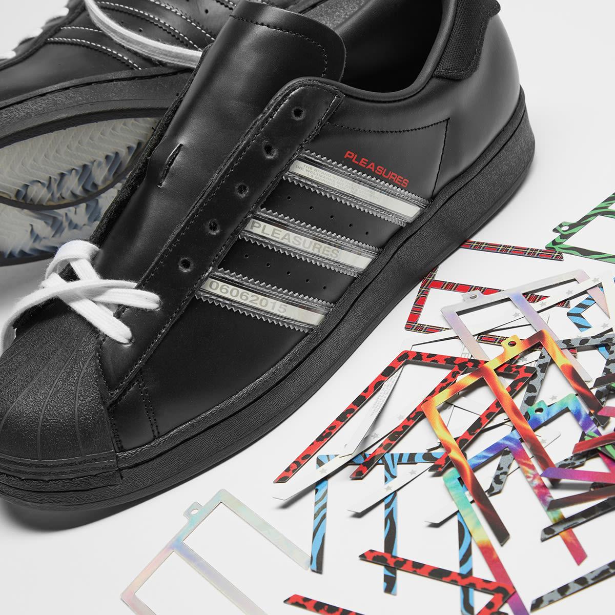 adidas Consortium x Pleasures Superstar - GY5691