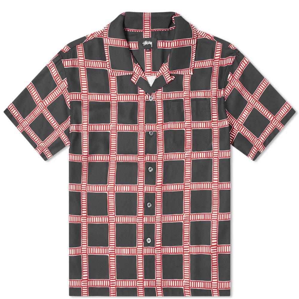 Stüssy Hand Drawn Plaid Shirt