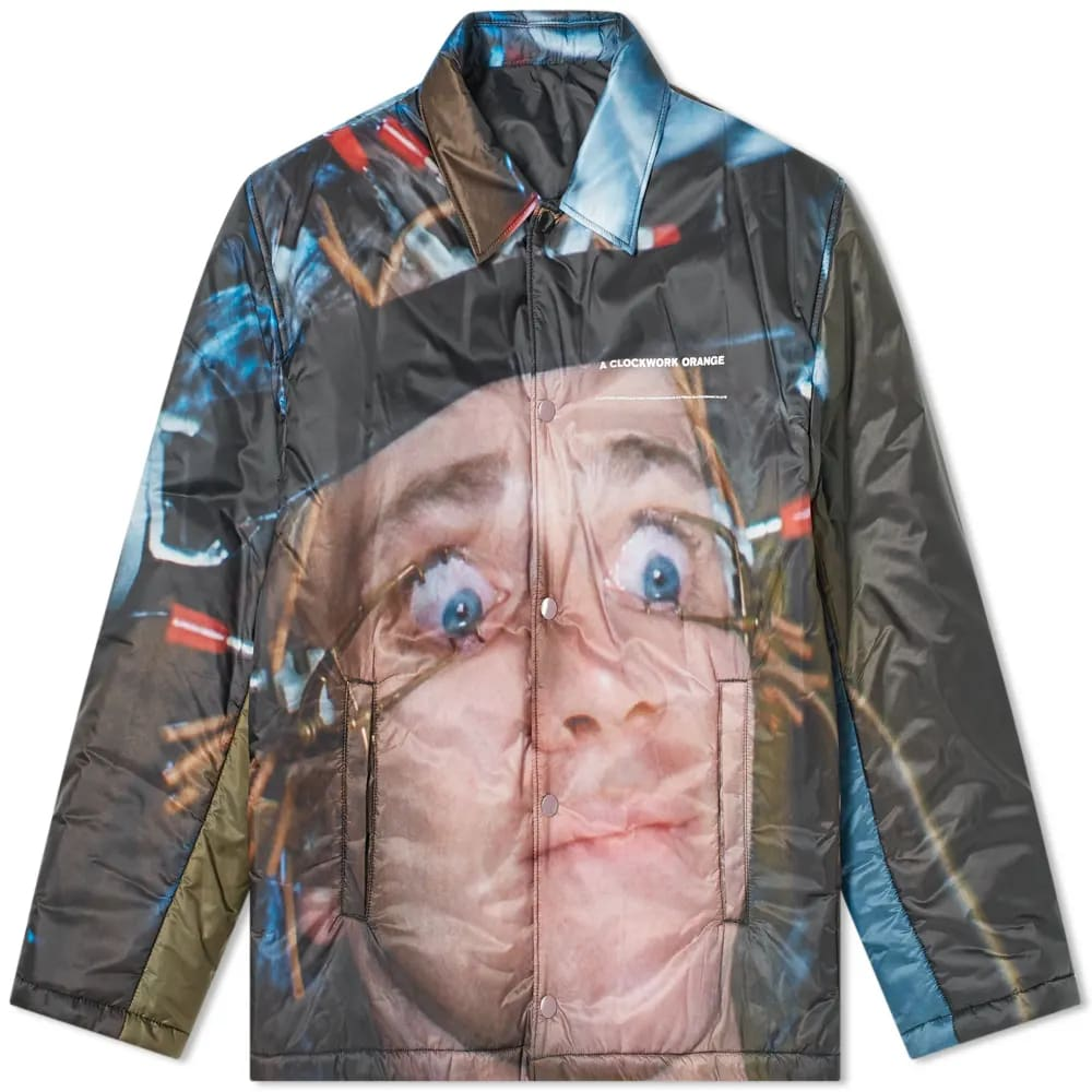 Undercover x A Clockwork Orange All Over Print Coach Jacket