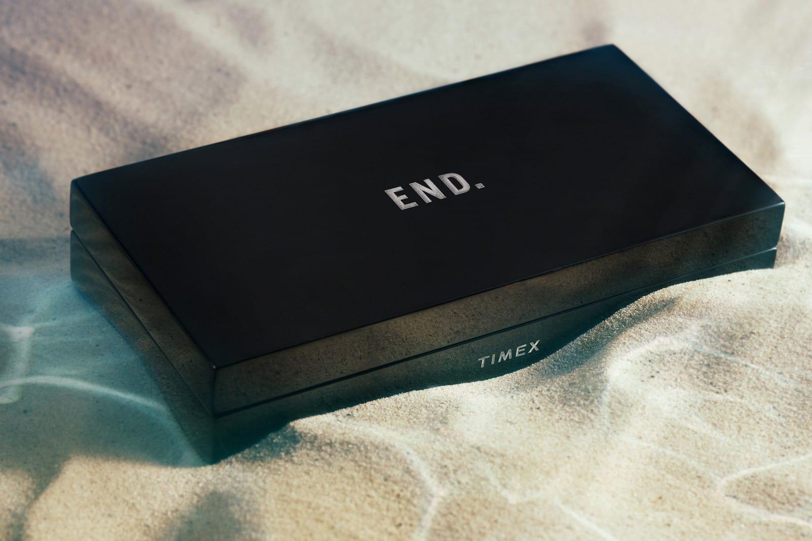 """END. x Timex Navi XL """"Bioluminescence"""" - TWG022100"""