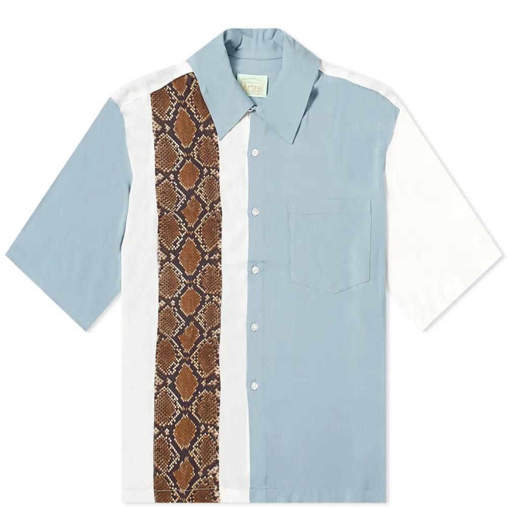 Aries Panel Hawaiian Shirt