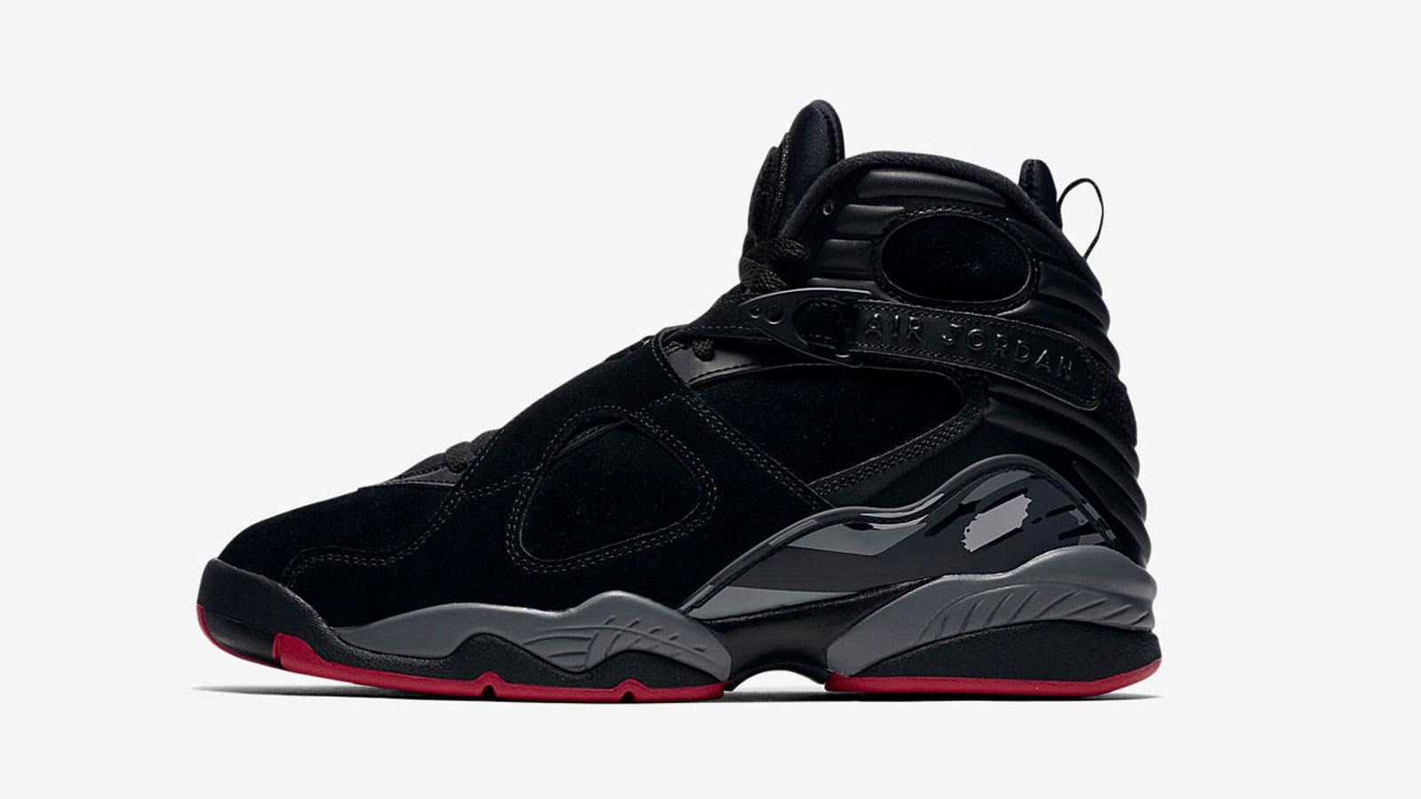 Air Jordan 8 Retro 'Cement Black