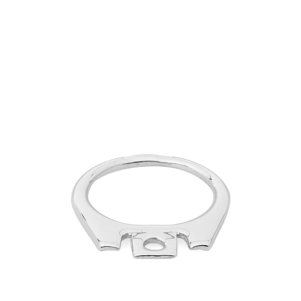 Raf Simons Silver Can Tab Ring