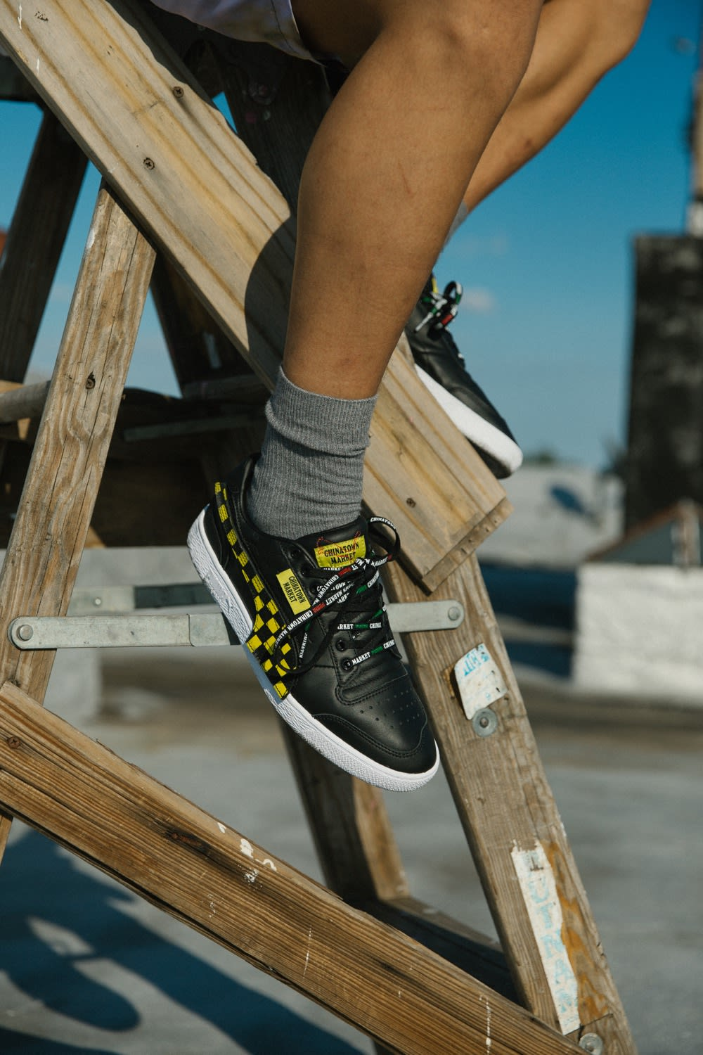 END. Features | Taking the PUMA x Chinatown Market Pack For
