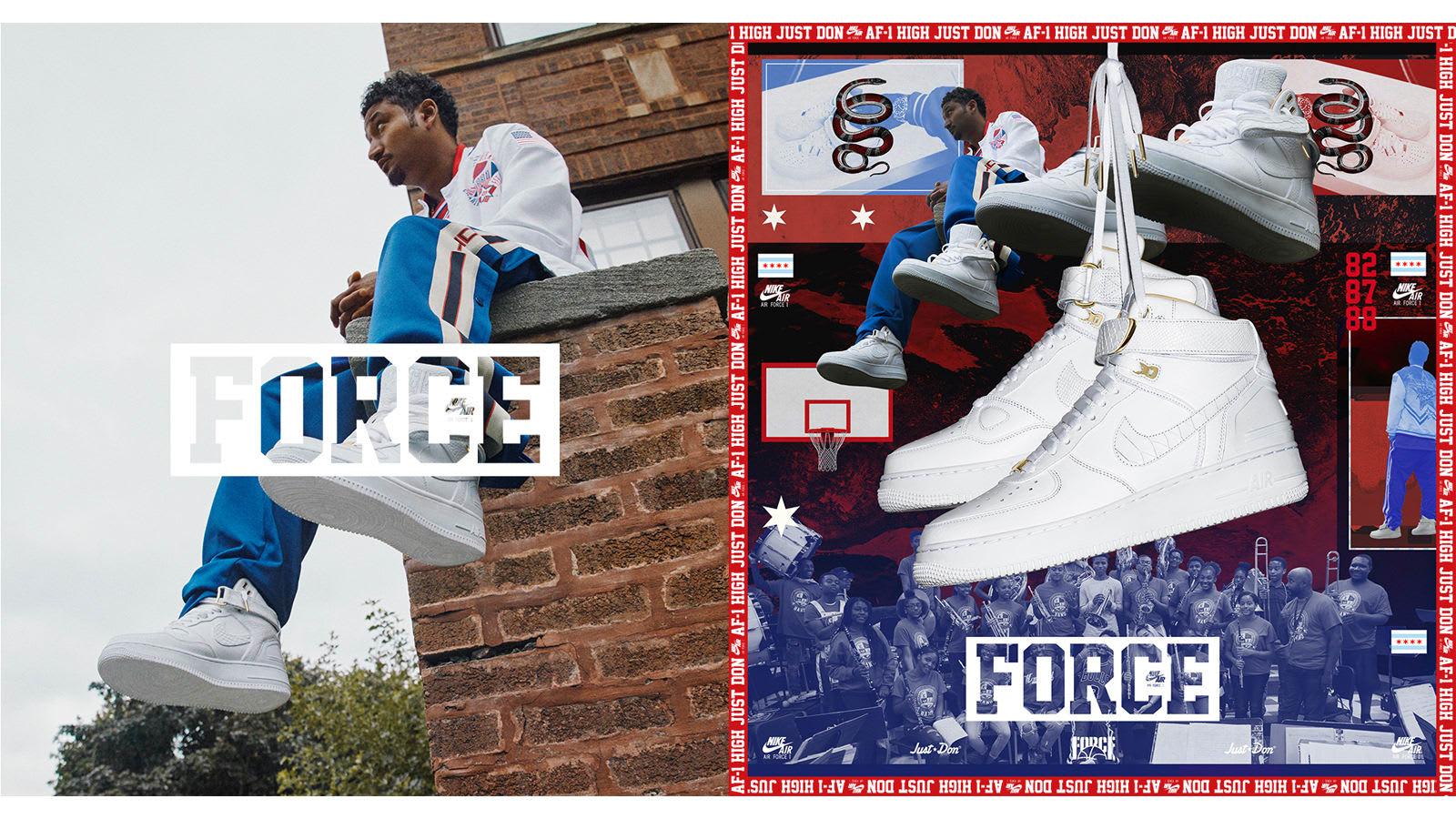 air force 1 celebration