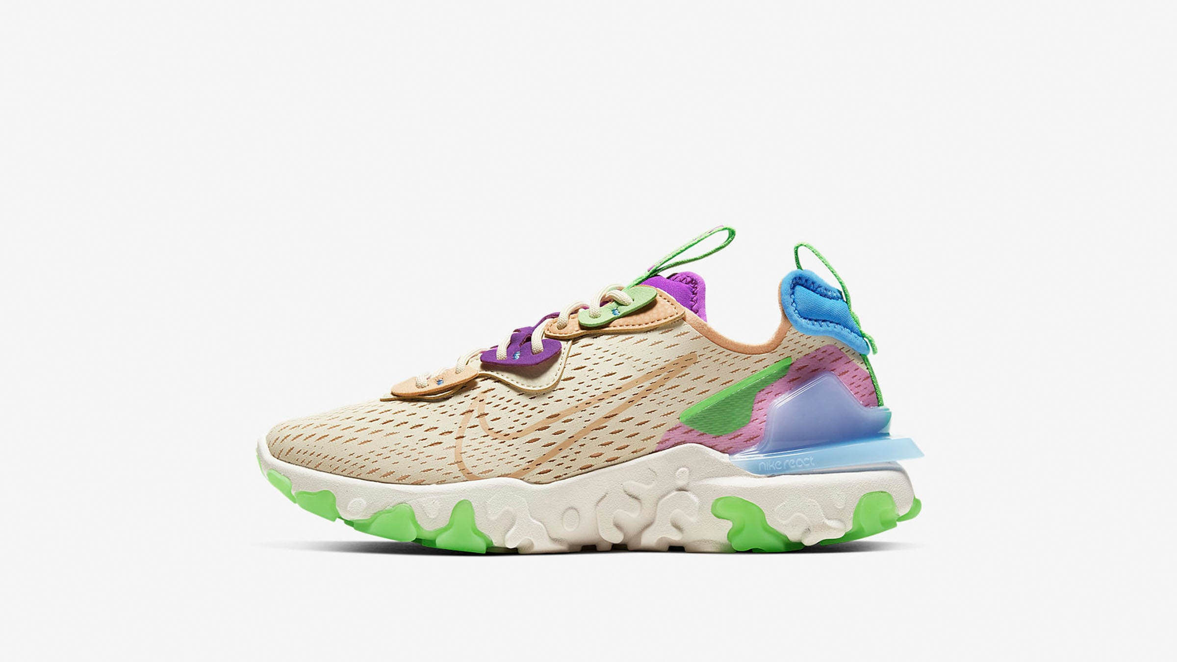 Nike React Vision W 'Fossil' - CI7523-200