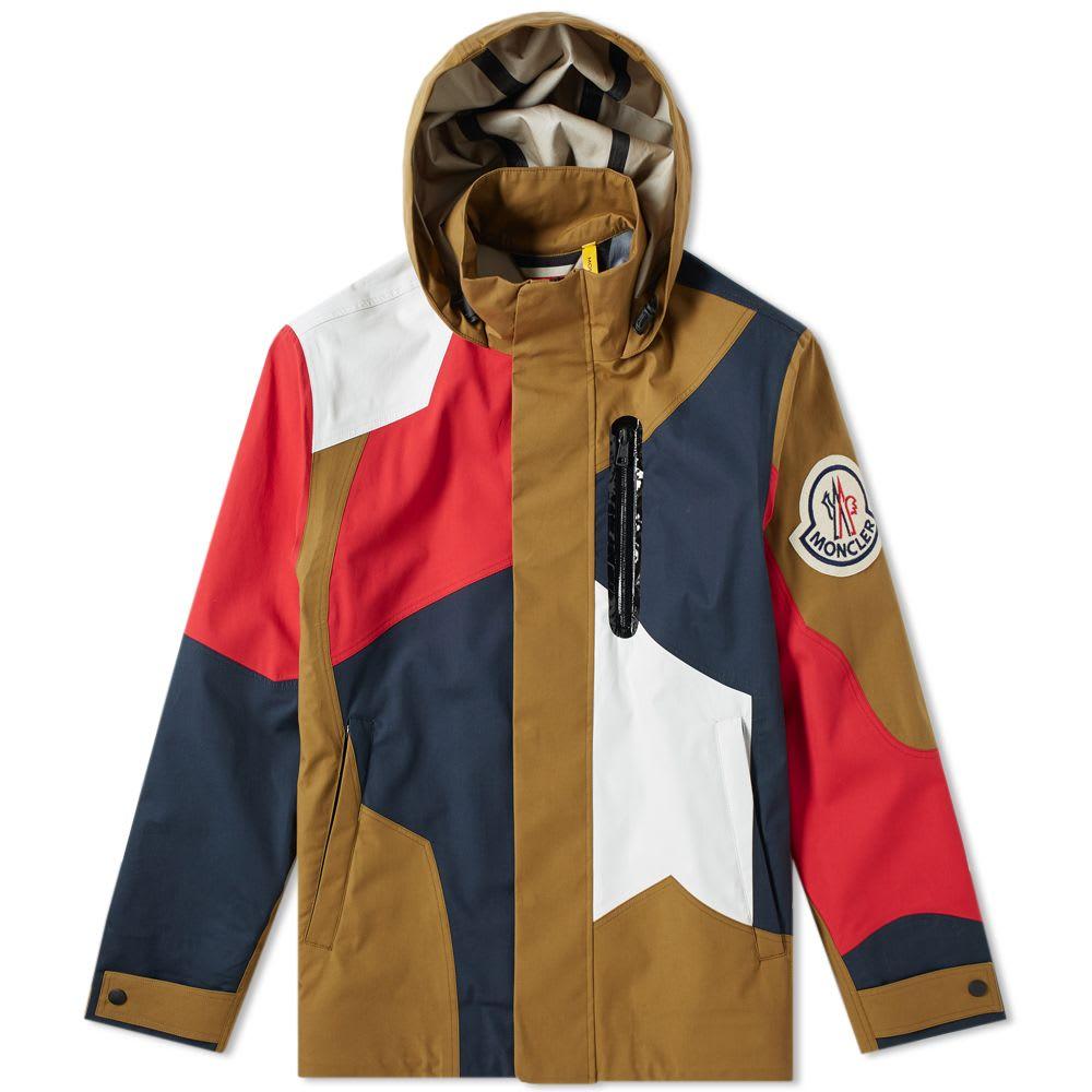 Baudrier Hooded Bonded Patchwork Jackets