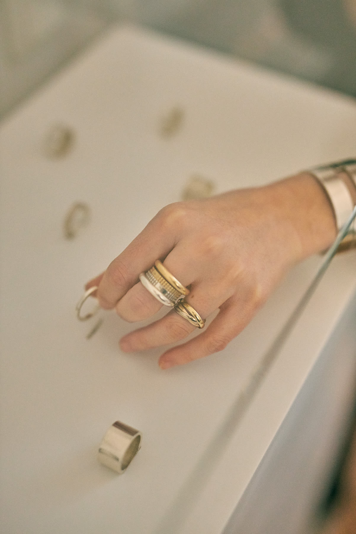 A selection of Le Gramme rings
