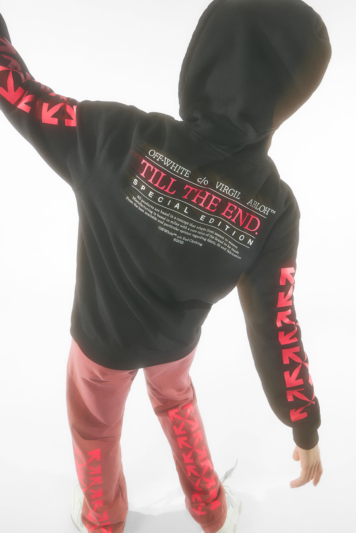 """END. x OFF-WHITE """"Till The END."""" Womens"""