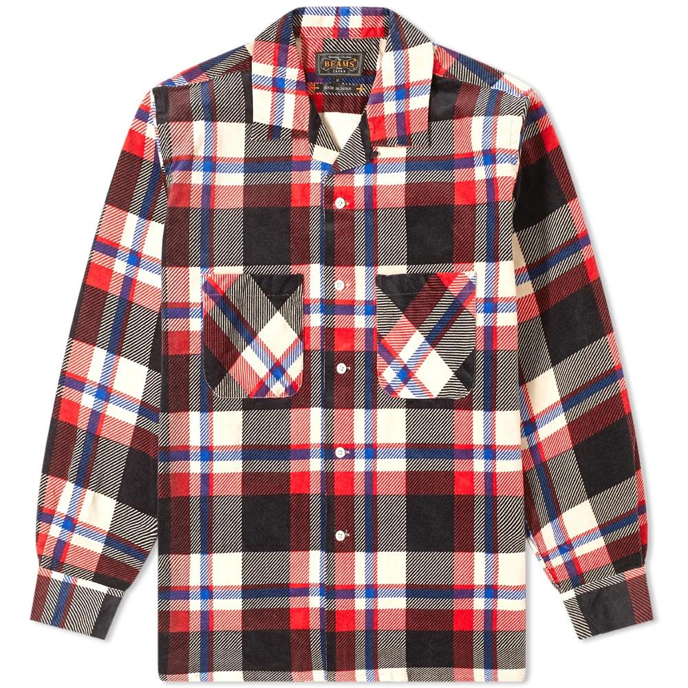 Beams Plus Open Collar Corduory Shirt