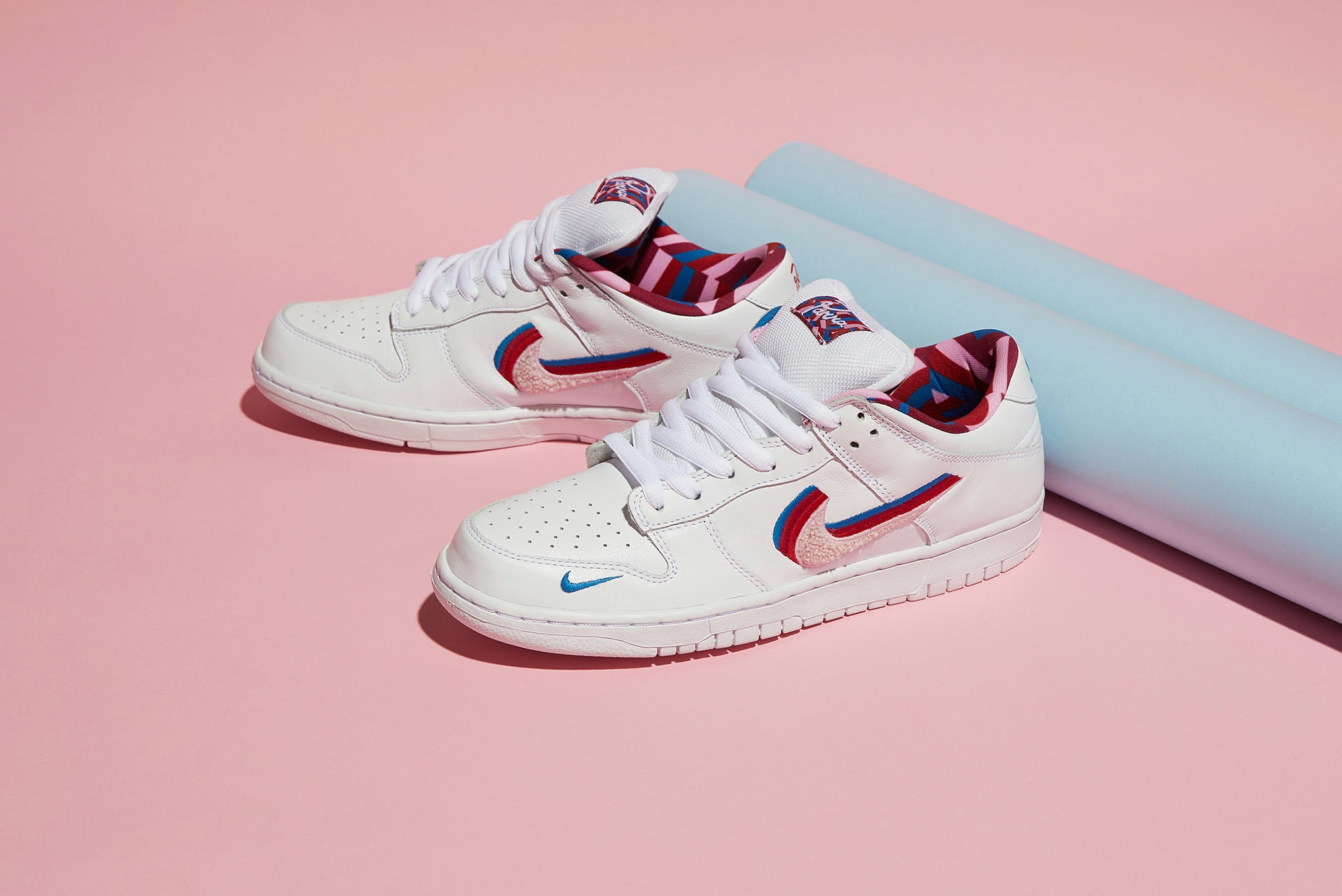 END. Features | Nike x Parra SB Dunk Low OG - Register Now on END ...