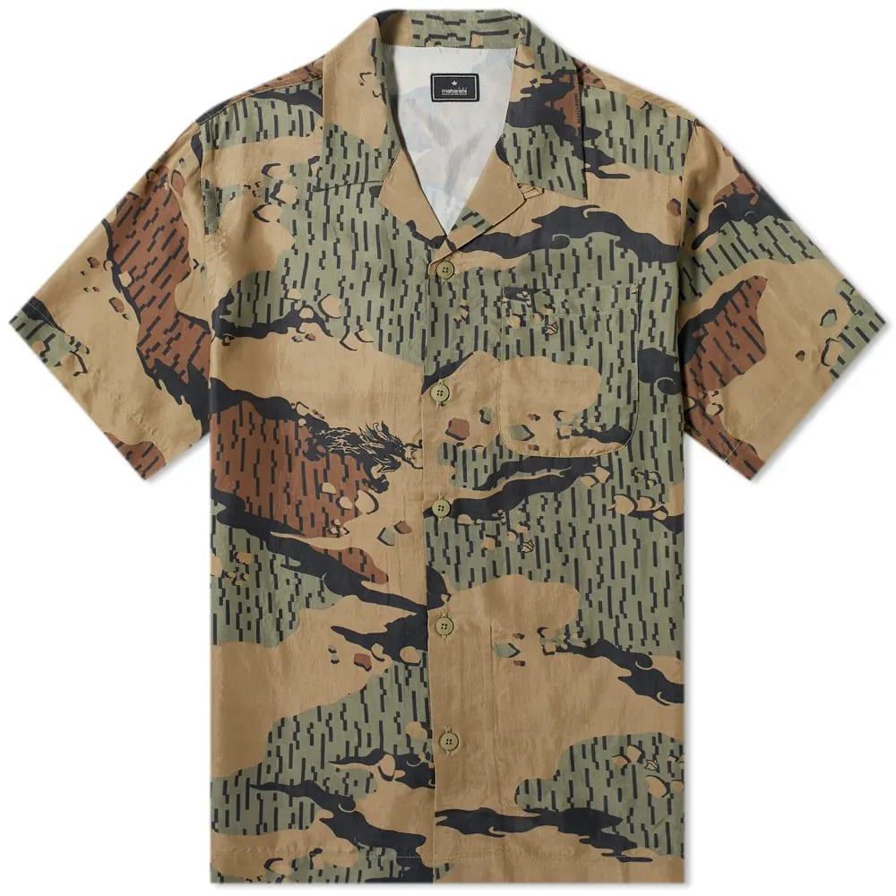 Maharishi Desert Rain Camo Summer Shirt