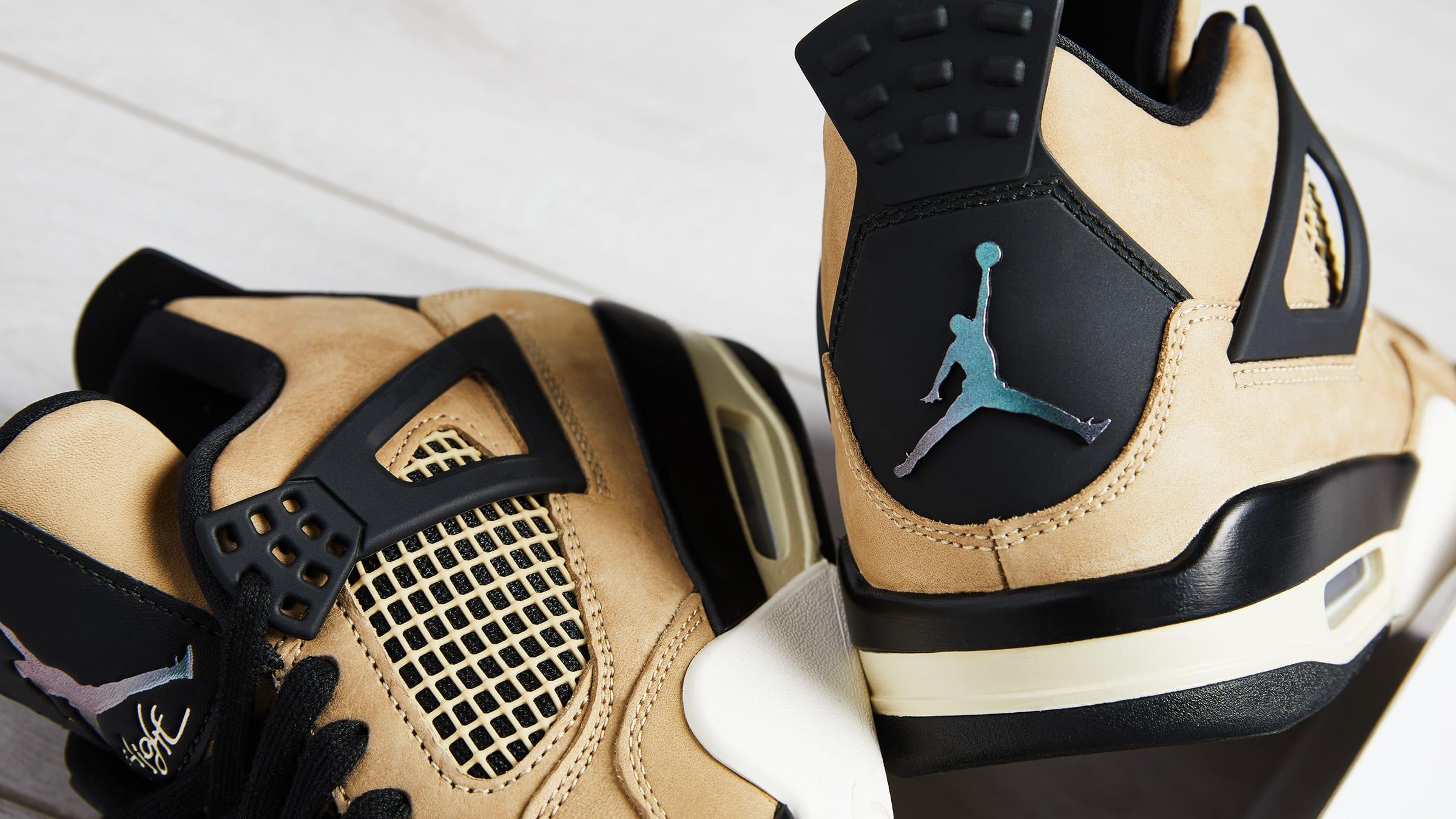 Nike Air Jordan 4 Retro W Mushroom shot by END. AQ9129-200