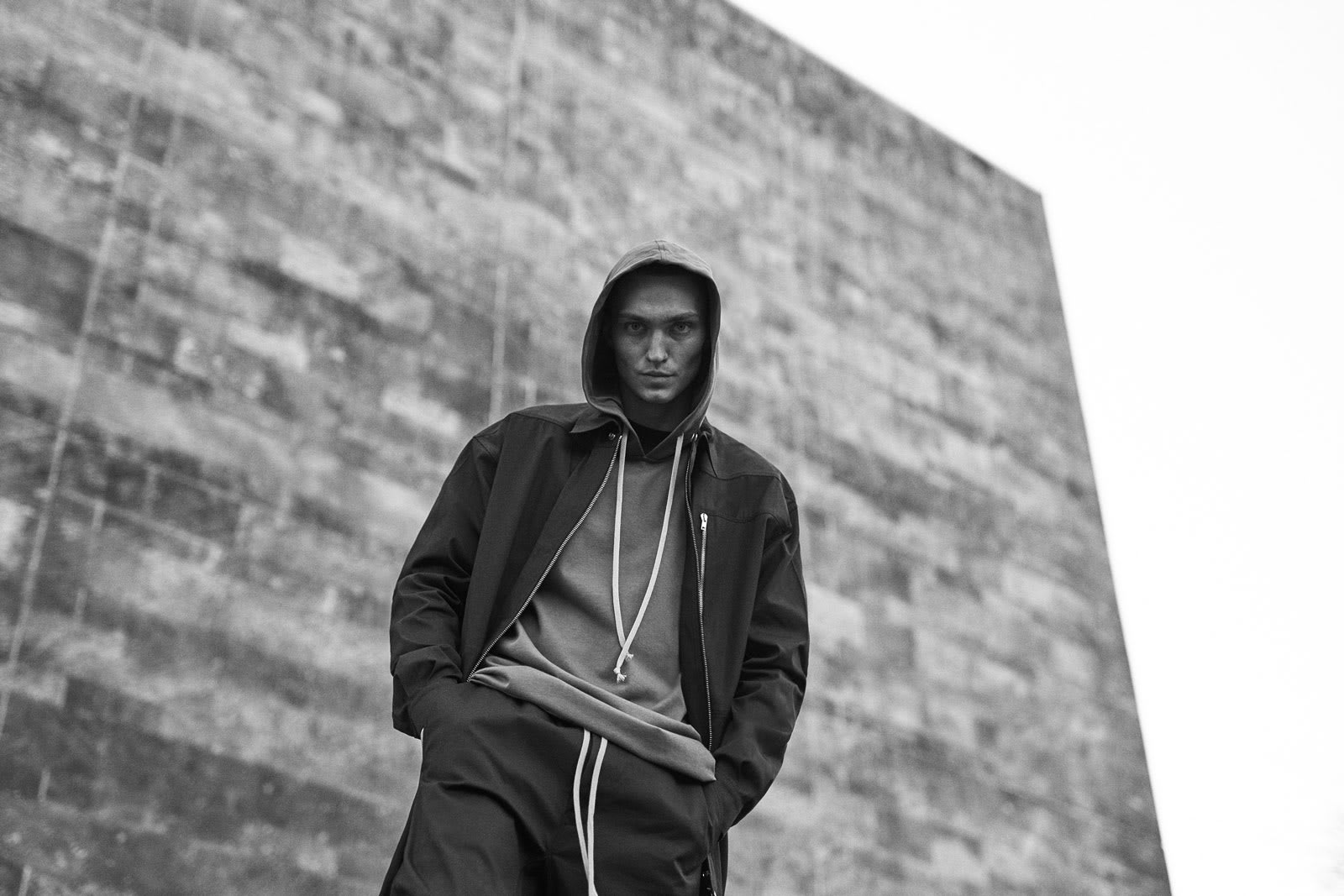 "END.'s SS20 editorial for Rick Owens ""Tecuatl"""