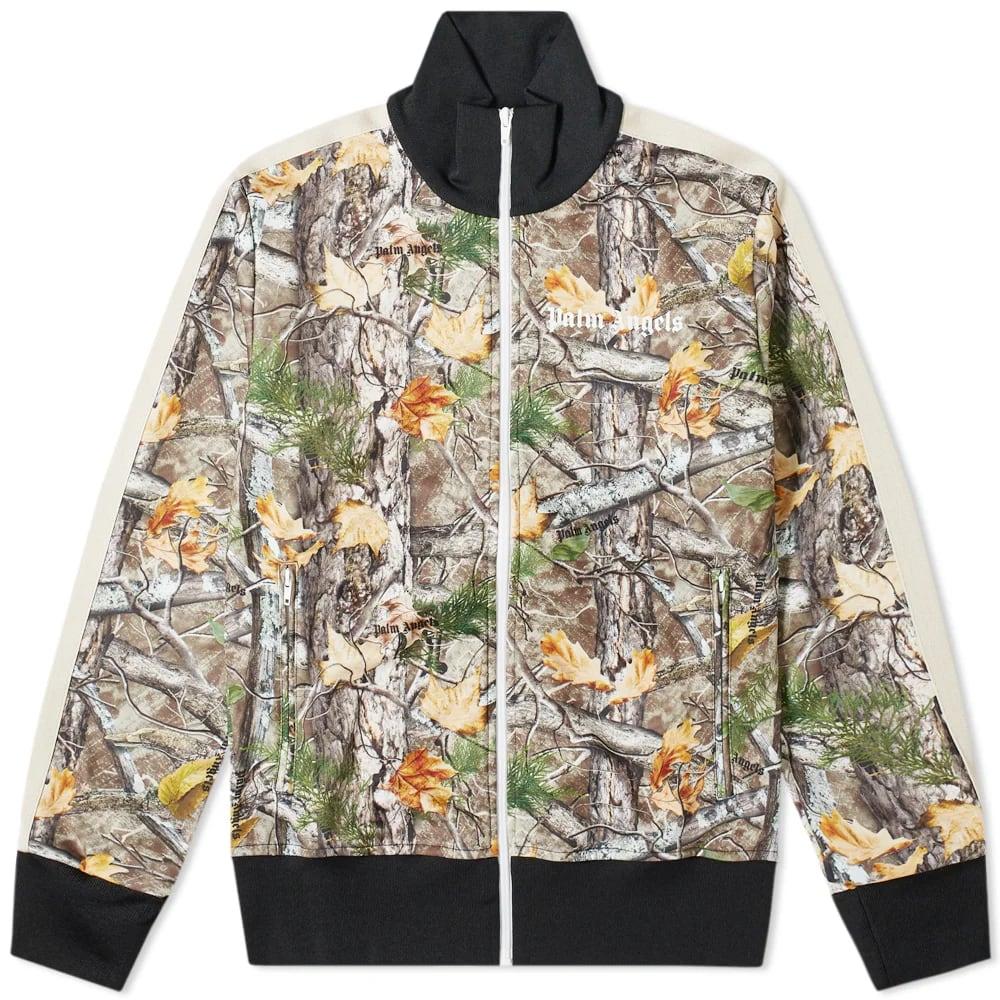 Palm Angels Wood Camo Track Jacket