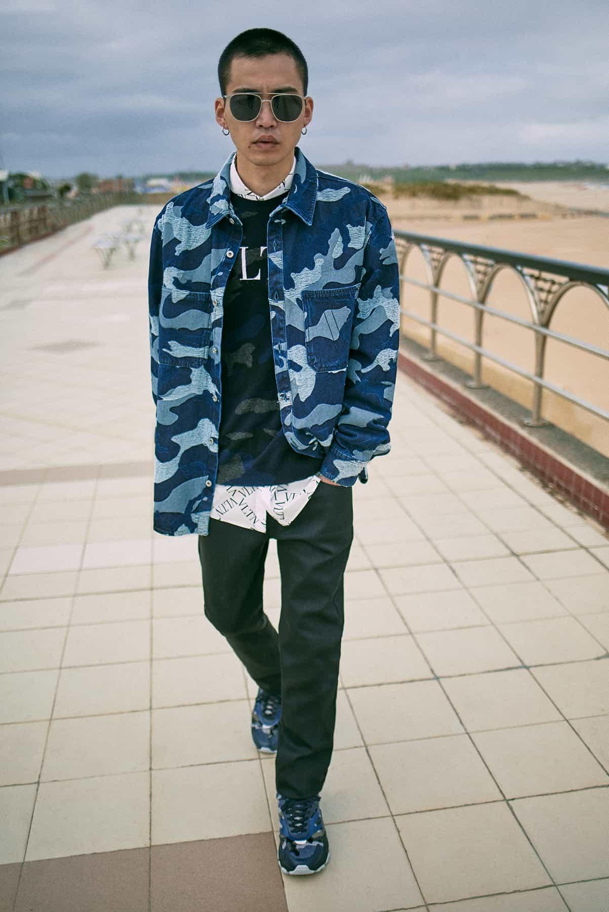 END. Required Item: Denim Jackets model wears: Valentino