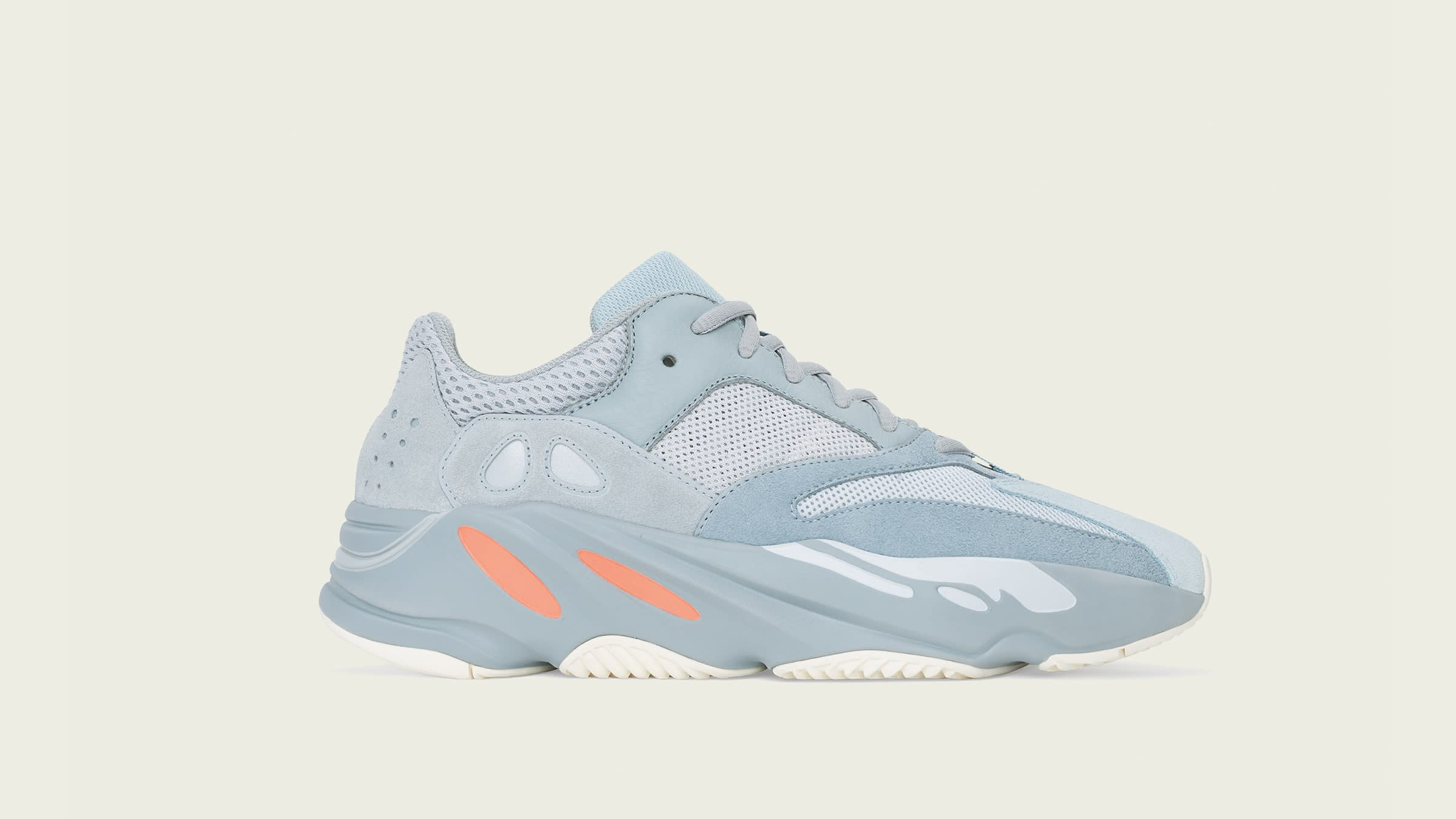 END. Features adidas + Kanye West YEEZY BOOST 700 'Inertia    END.    title=  6c513765fc94e9e7077907733e8961cc  ,  Features   adidas + Kanye West YEEZY BOOST 700 'Inertia