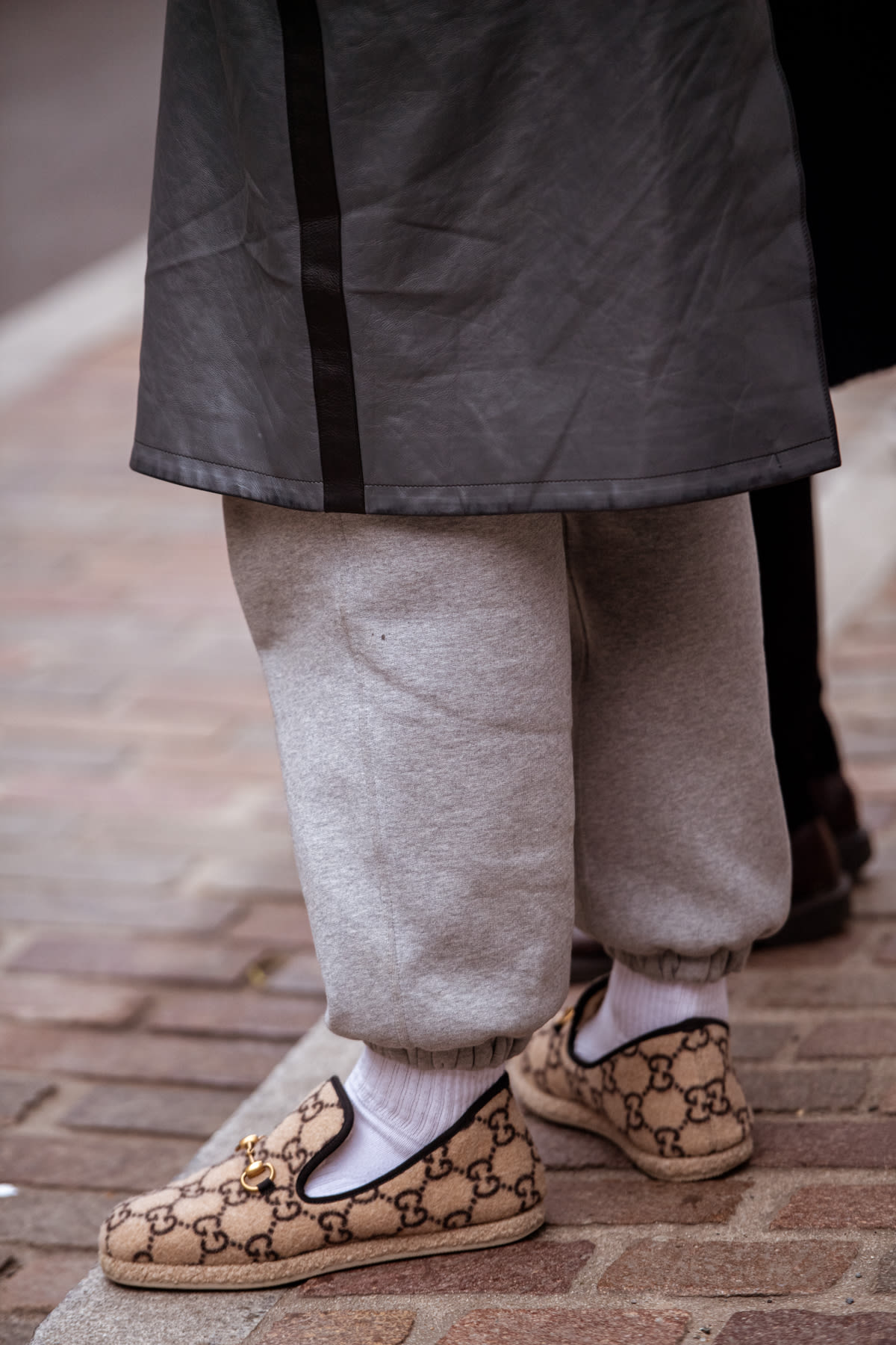 Gucci Fria Wool Loafer at London Men's Fashion Week AW20