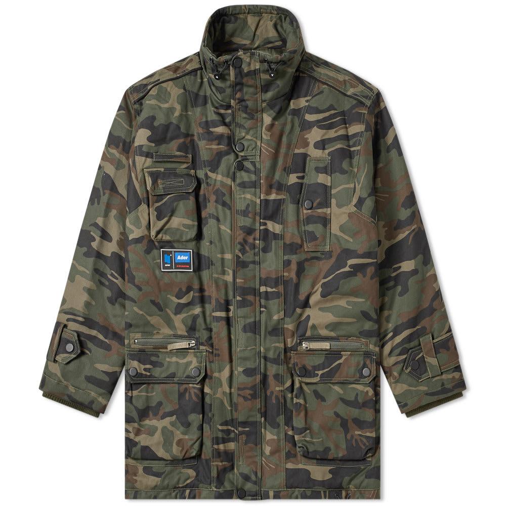 Oversized Camo Down Jacket