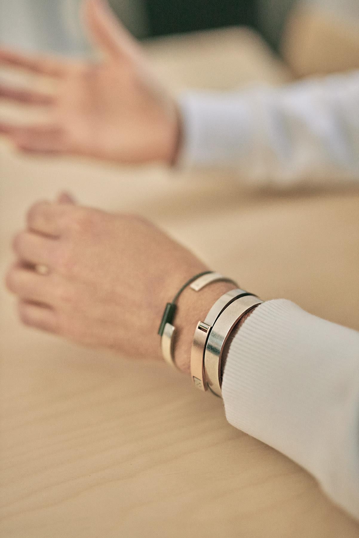 Erwan Le Louër's personal Le Gramme jewellery