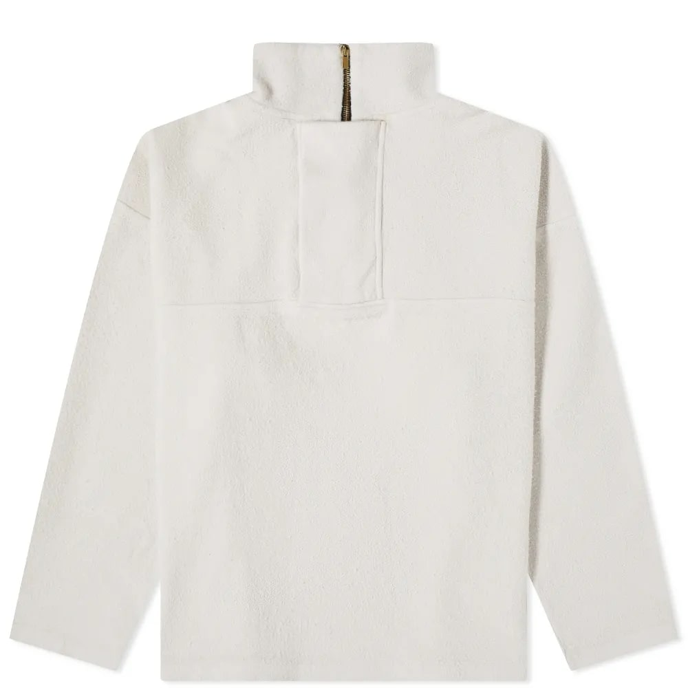 Fear of God Brushed 1/4 Zip Fleece Pullover