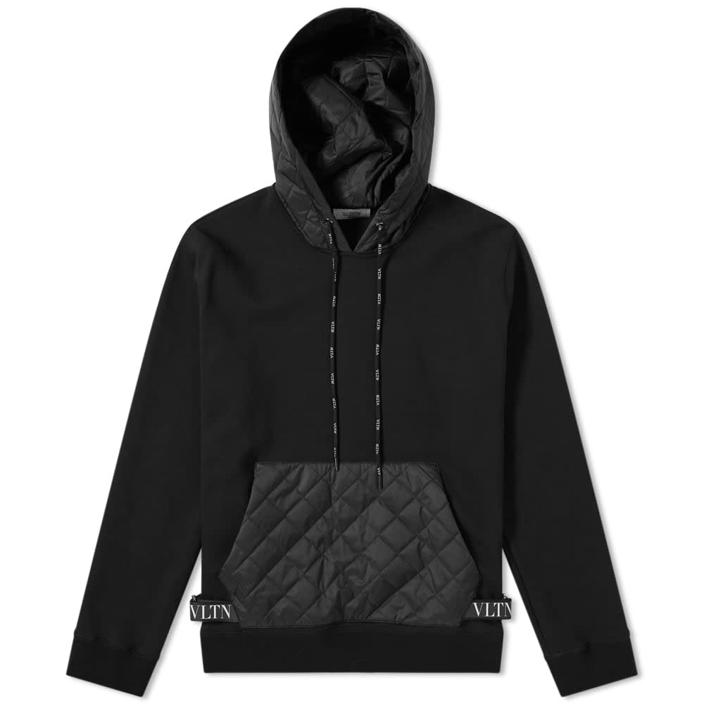 Popover Quilted Pouch Hoody