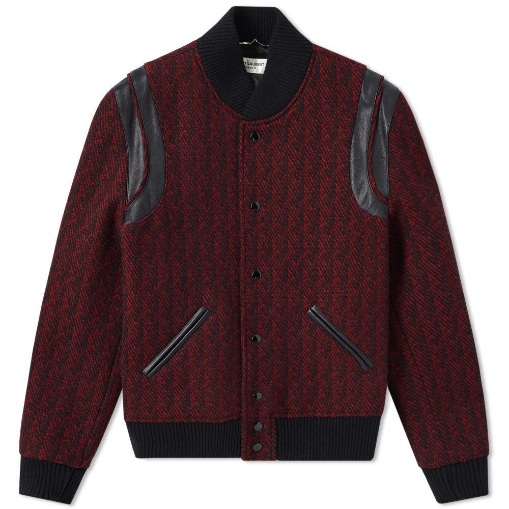 Wool Jacquard Teddy Jacket