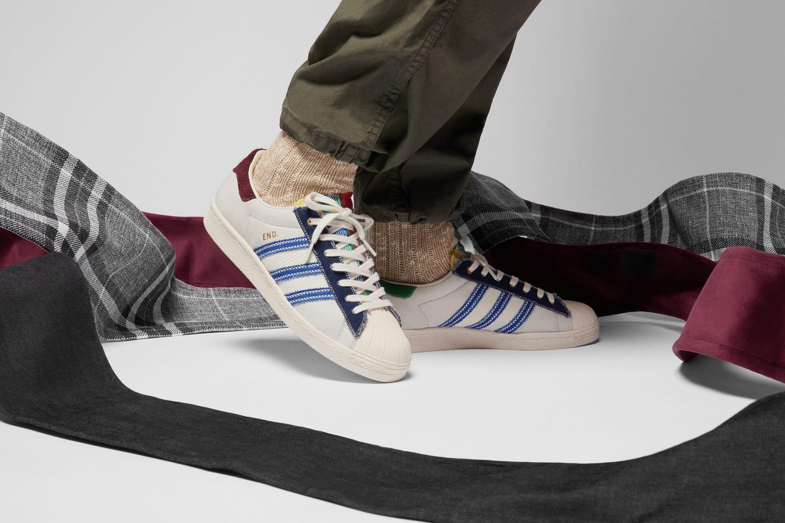 END. x adidas Superstar \