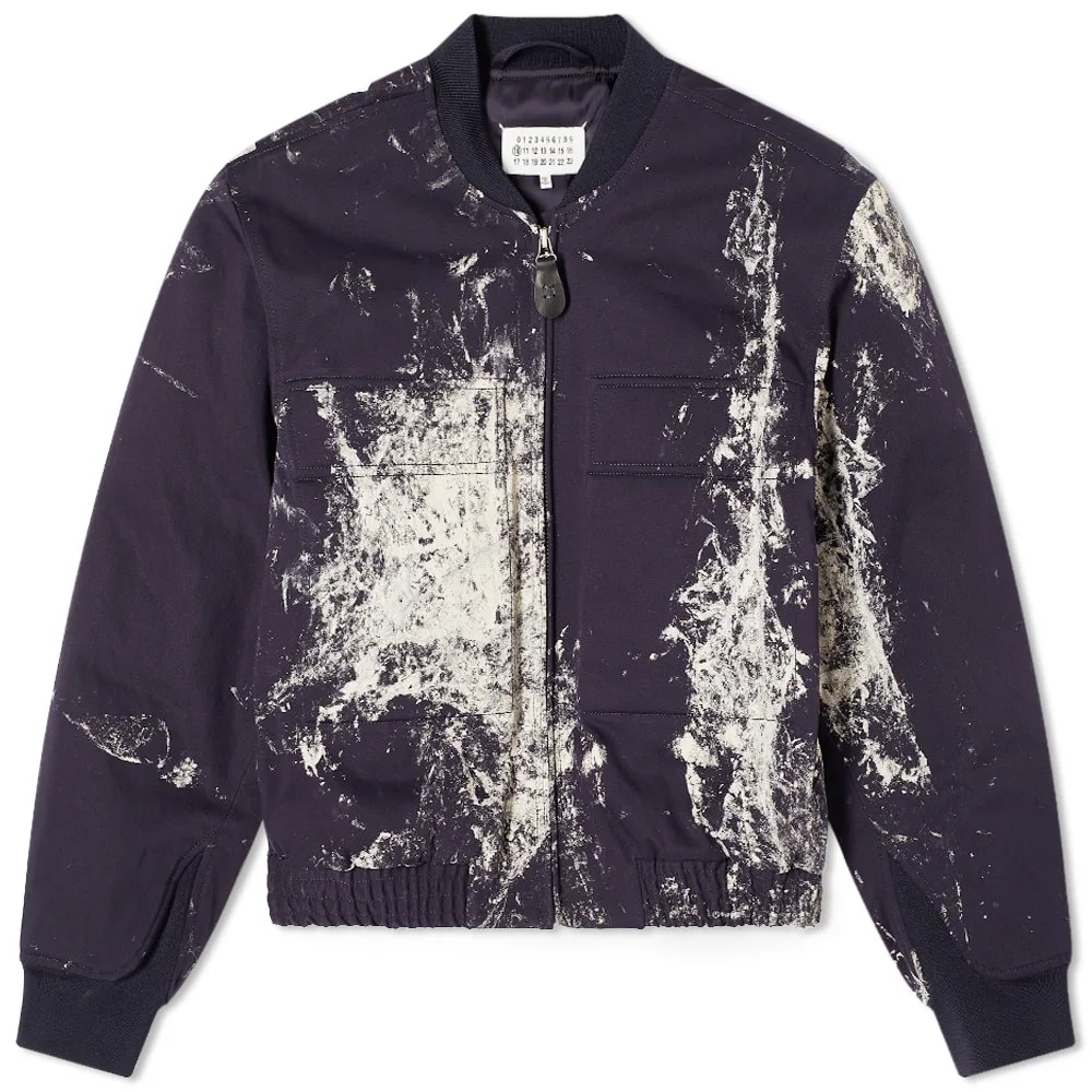 Maison Margiela 10 Painted Bomber Jacket