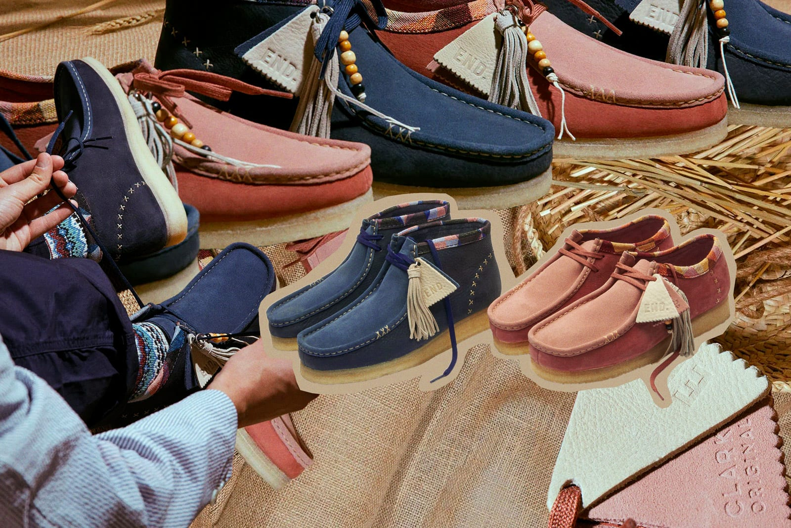 "END. X CLARKS ORIGINALS ""ARTISAN CRAFT"""