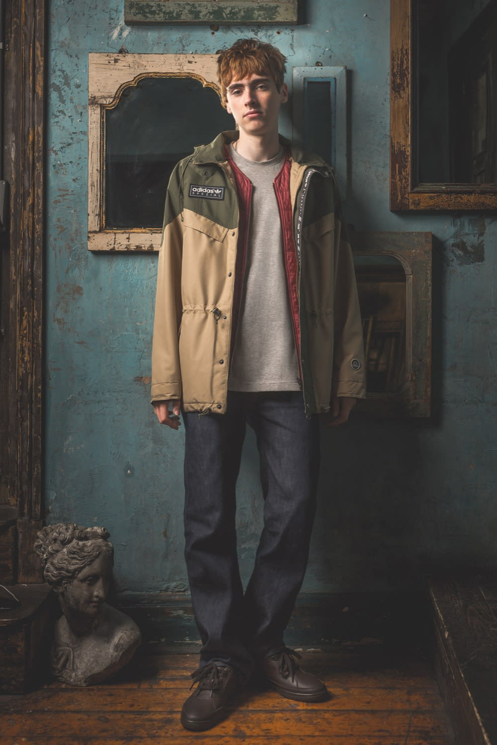 adidas SPEZIAL AW19 campaign imagery featuring Gene Gallagher