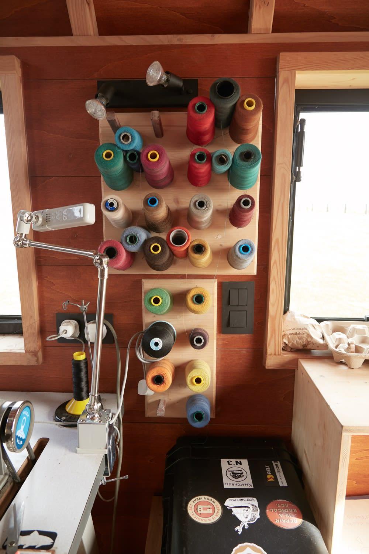 Inside the Patagonia Worn Wear van