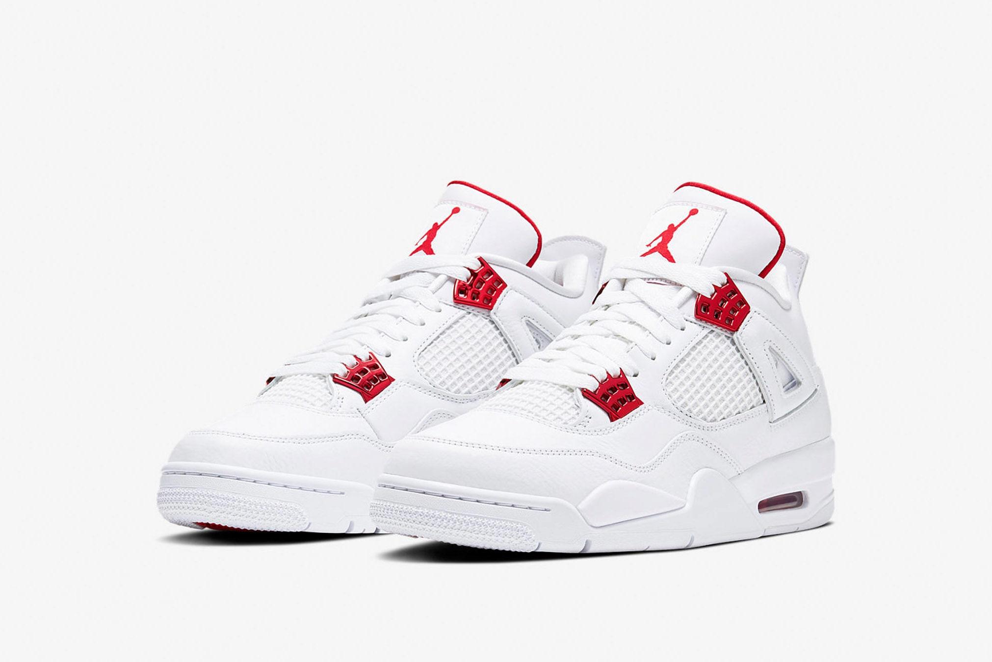 """Air Jordan 4 Retro """"Metallic Red"""" - CT8527-112"""