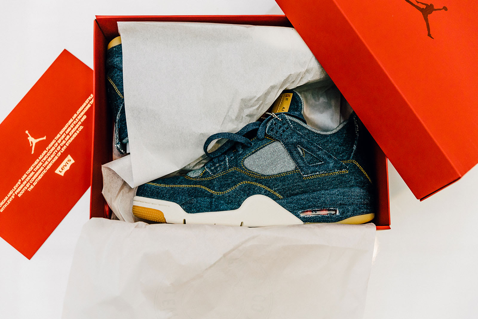END. Features | Levi's x Air Jordan 4 Retro Launching 17th