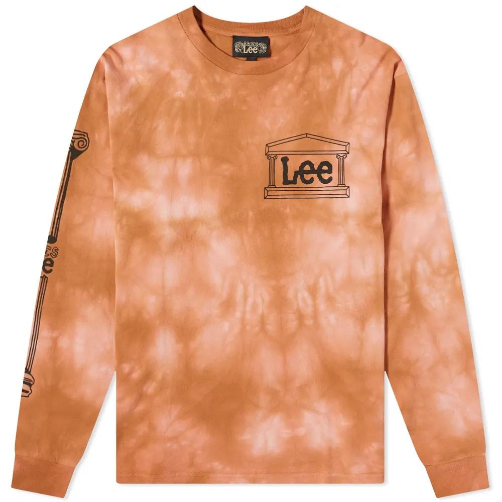 Aries x Lee Long Sleeve Tie Dye