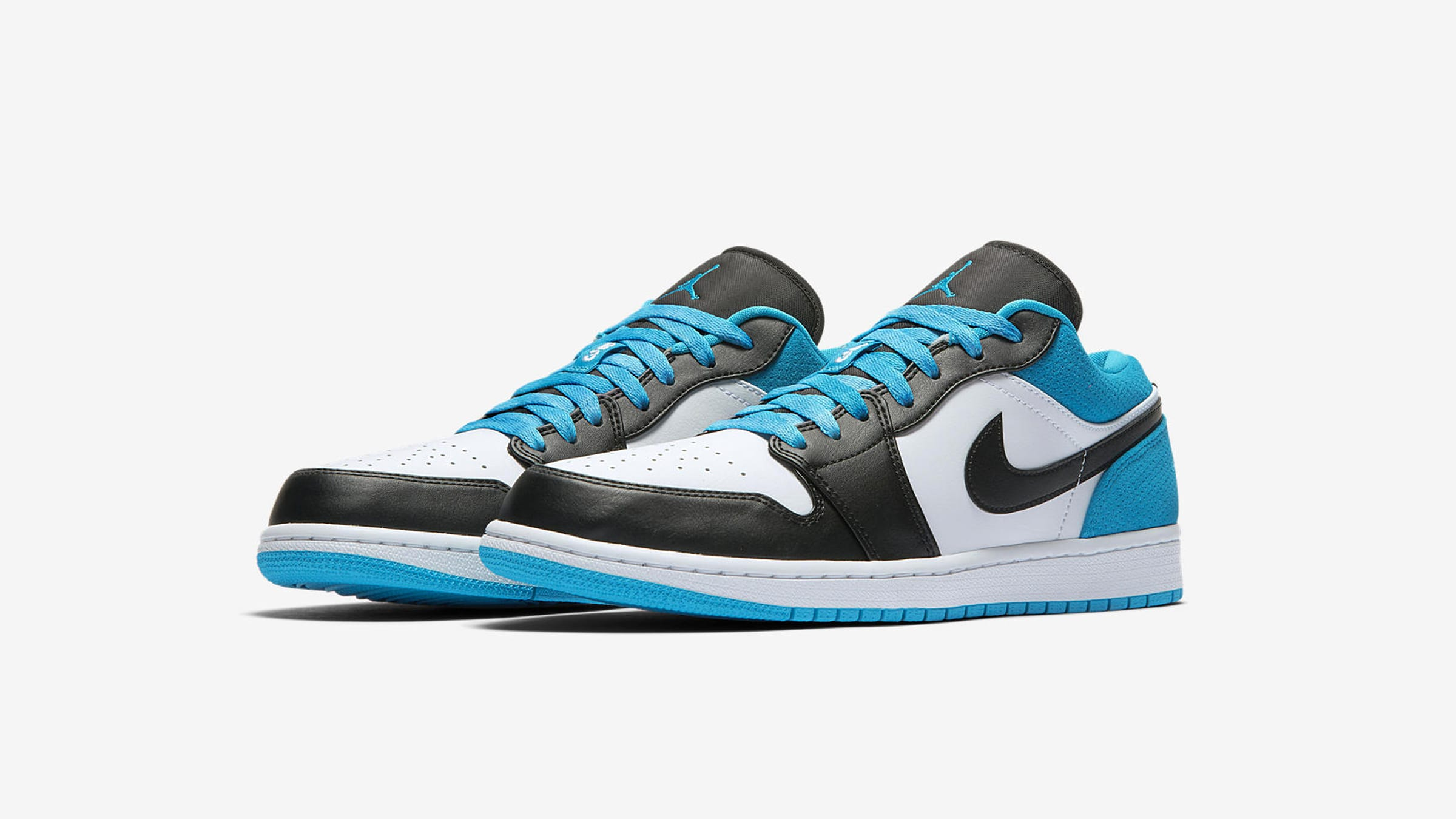 END. Features | Nike Air Jordan 1 Low 'Laser Blue ...