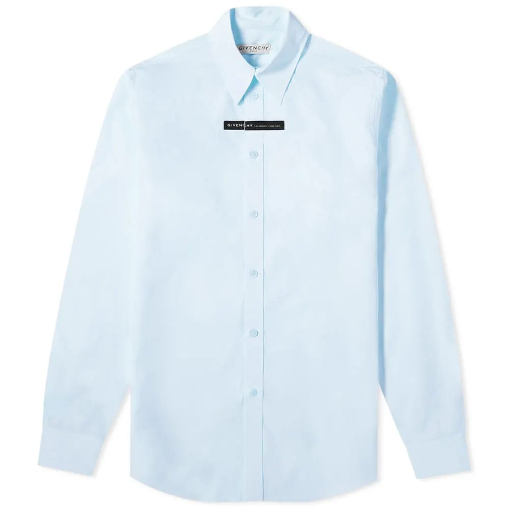 Givenchy Tape Logo Poplin Shirt