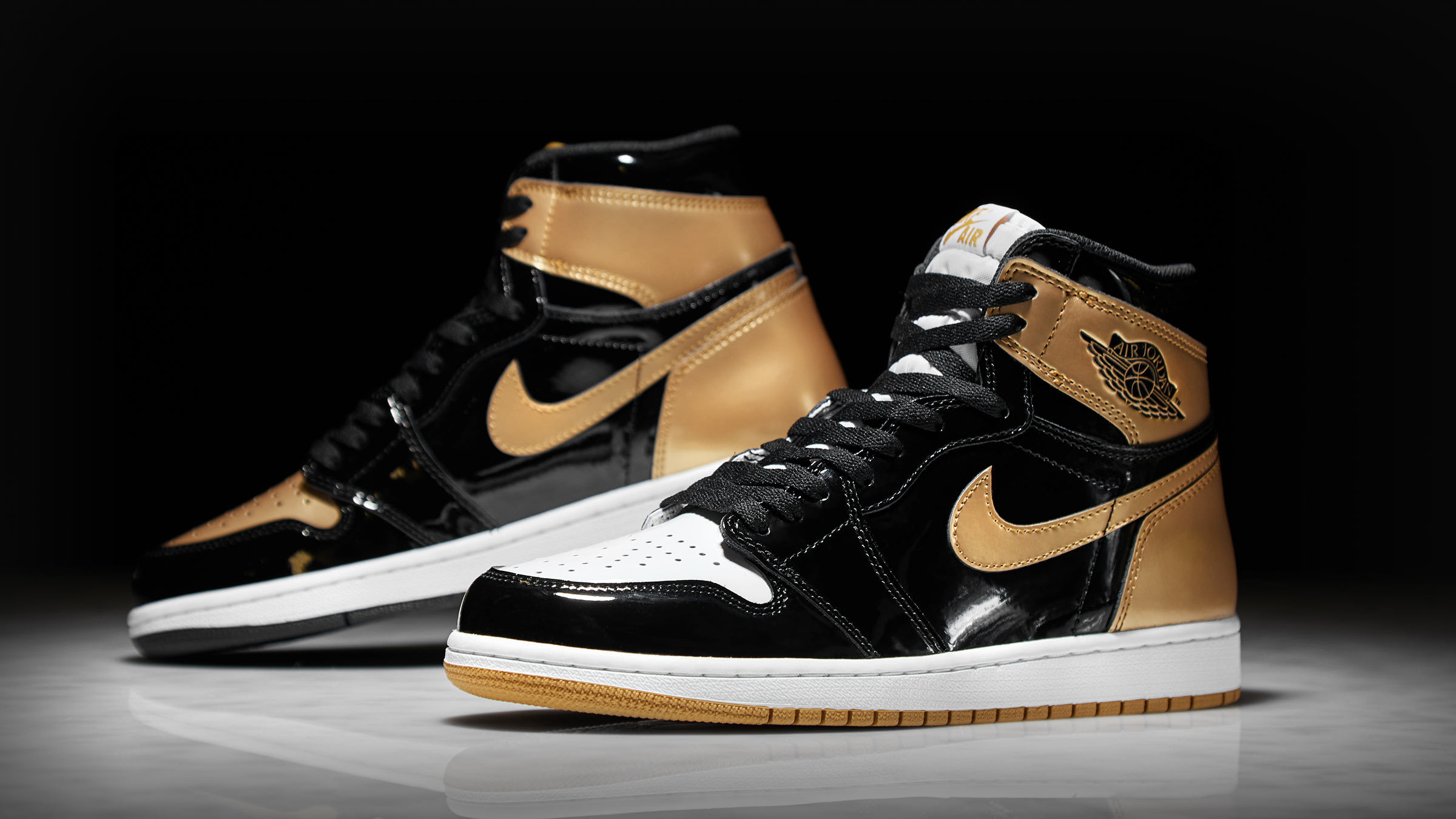END. Features | Nike Air Jordan 1 Retro High OG Energy 'Gold