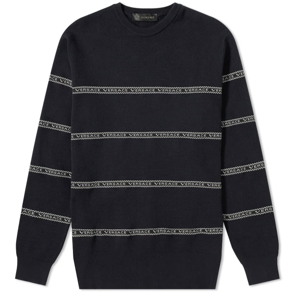 Taped Crew Knit