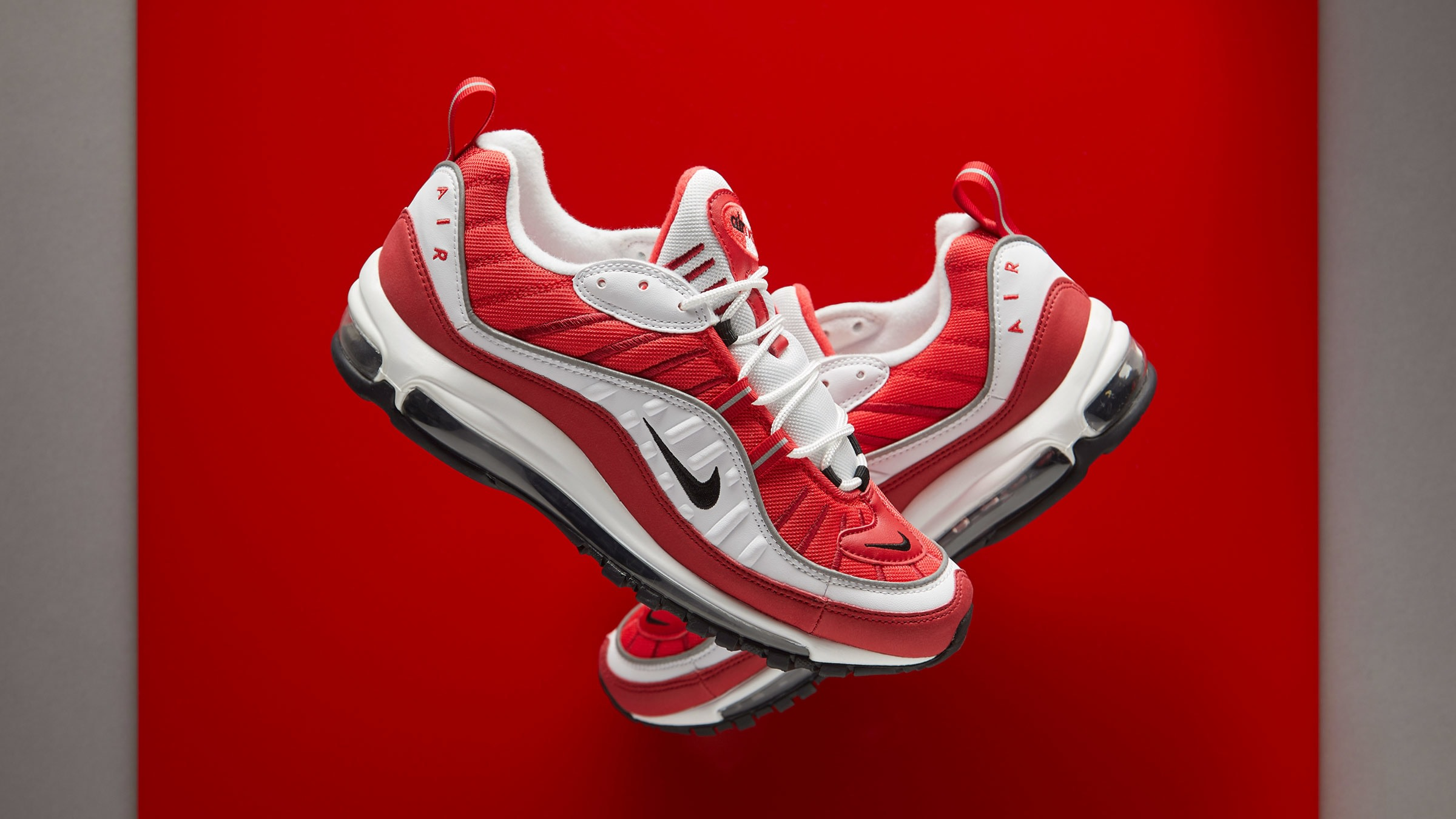 END. Features | Nike W Air Max 98 'Gym Red' Register Now