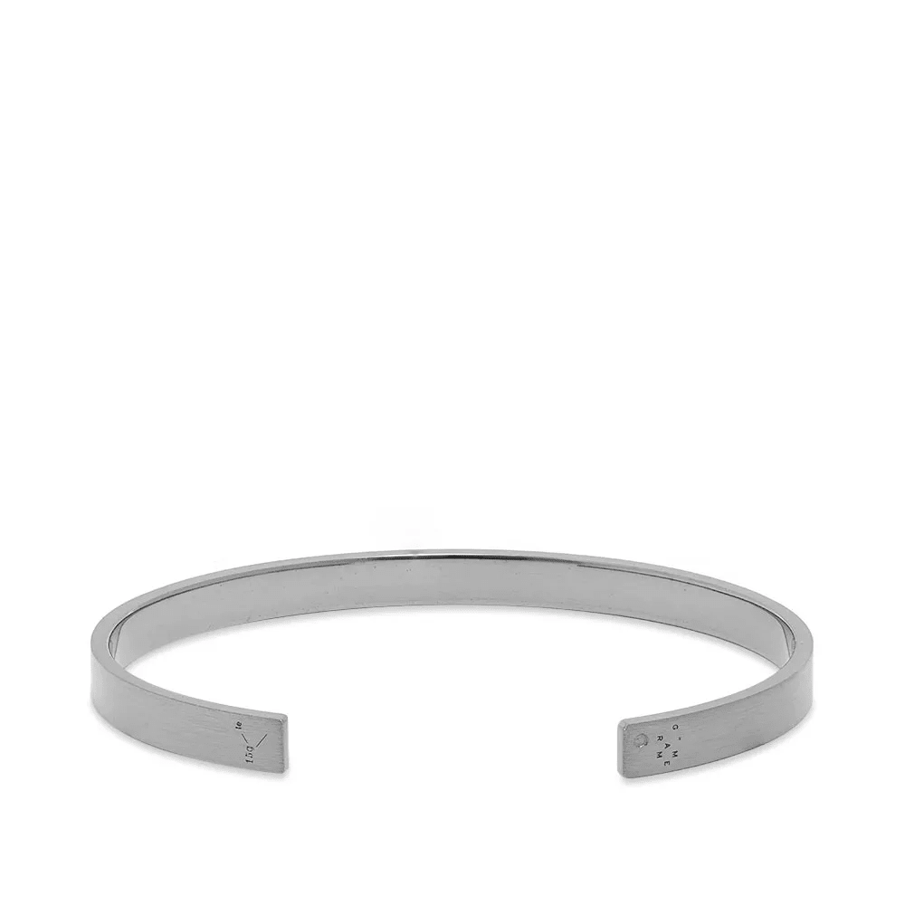 Le Gramme Brushed Ribbon Bracelet