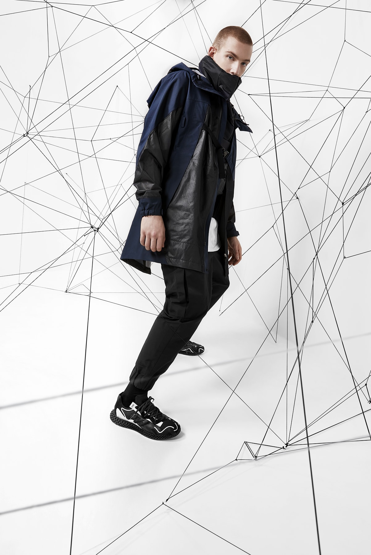 "END. x adidas Evo 4D ""Dark Matter"" - FX0549"