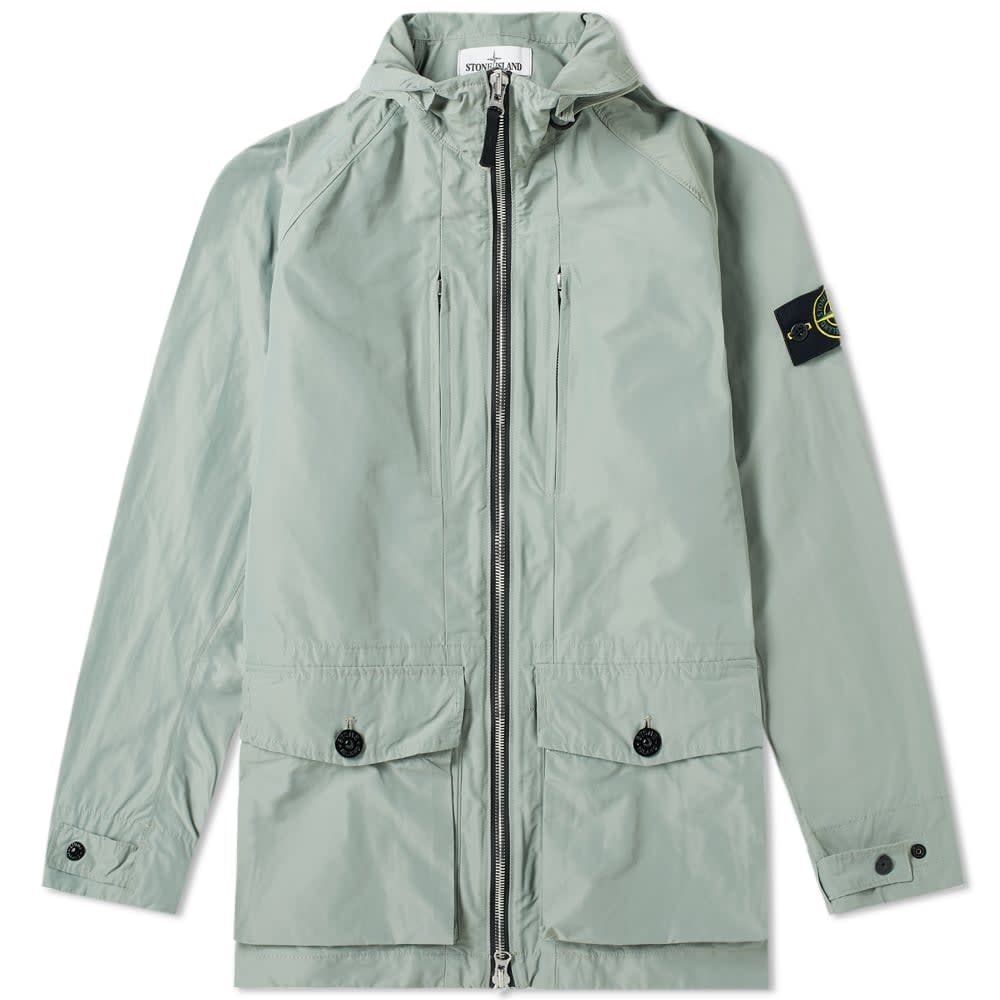 Stone Island Micro Reps Hooded Zip Jacket