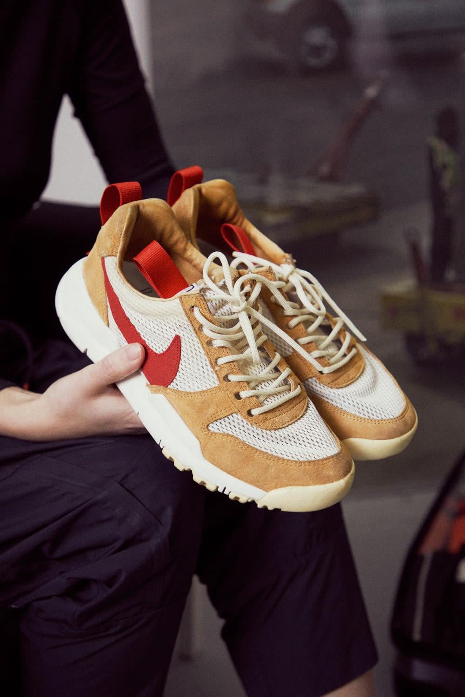 Mini Swoosh Flight Case Sneakers Tom Sachs x NikeCraft Mars Yard 2.0