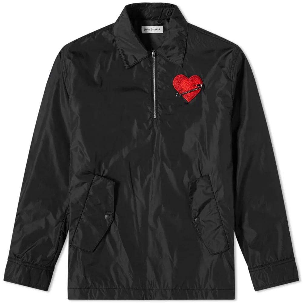 Palm Angels Pin My Heart Coach Jacket