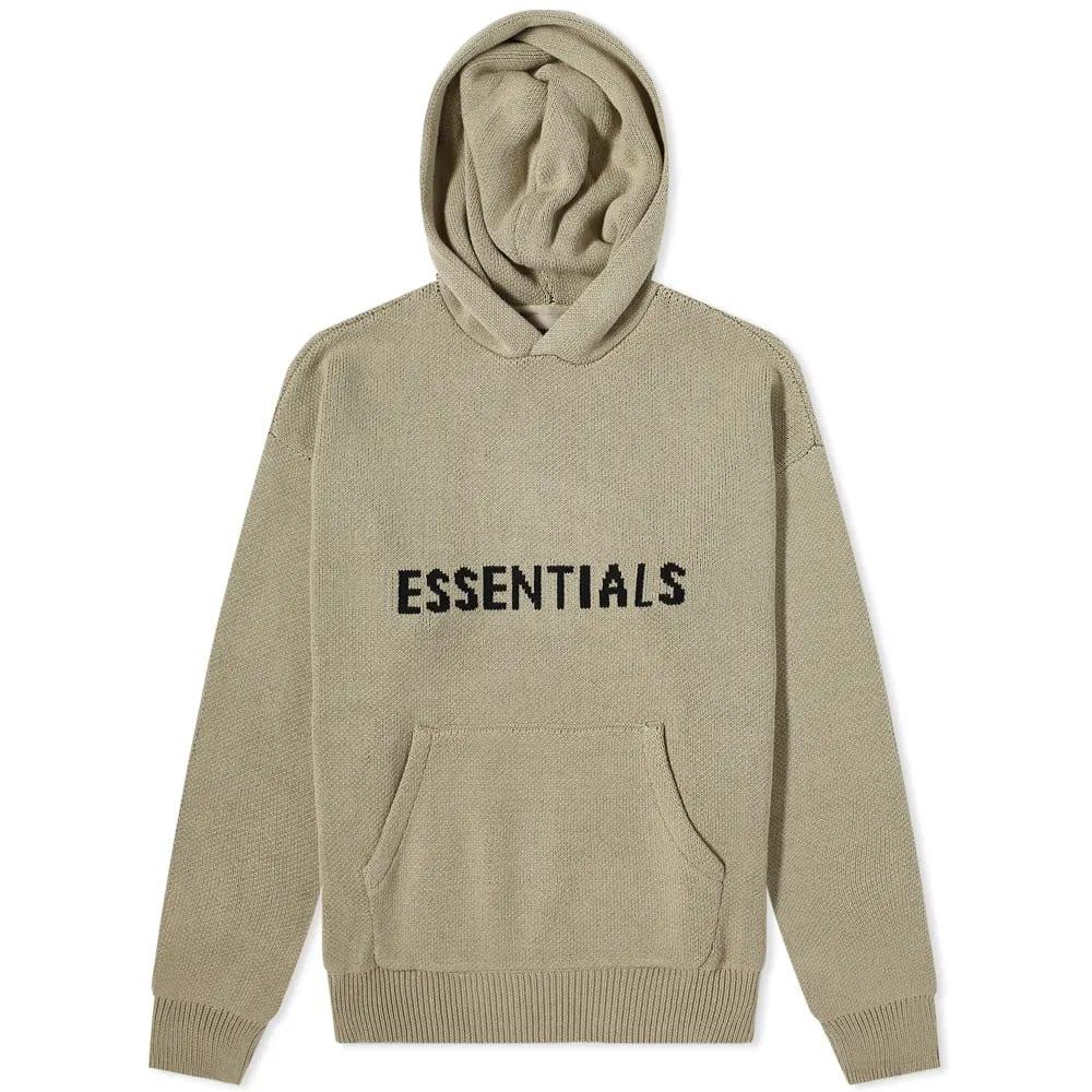 Fear of God Essentials Summer Knitted Hoody