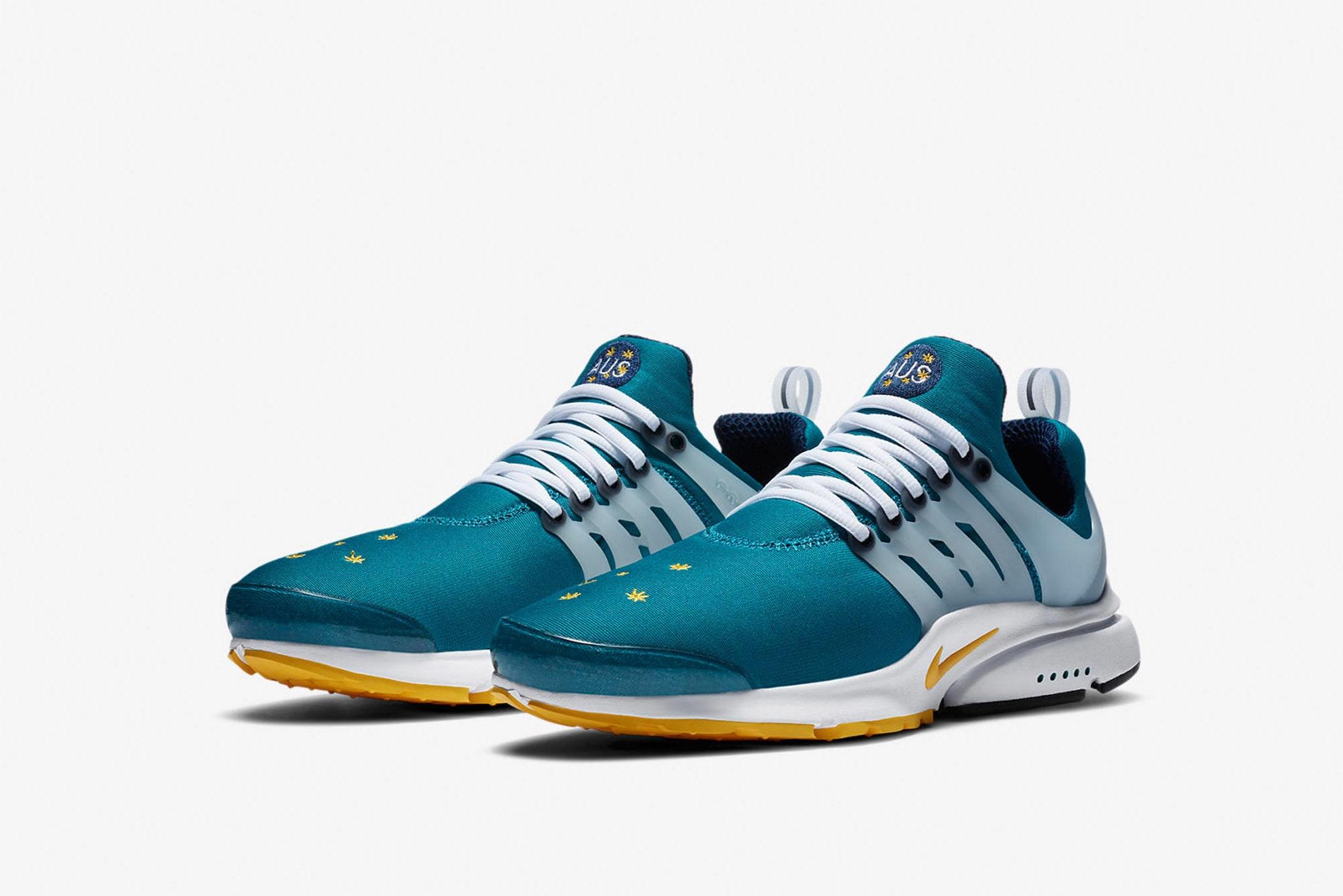 "Nike Air Presto ""Australia"" - CJ1229-301"